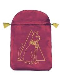 Egyptian Cat Satin Bag All Wicca Store Magickal Supplies Wiccan Supplies, Wicca Books, Pagan Jewelry, Altar Statues
