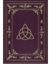 Wiccan Triquetra Blank Journal All Wicca Store Magickal Supplies Wiccan Supplies, Wicca Books, Pagan Jewelry, Altar Statues