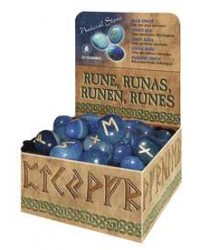 Blue Onyx Runes All Wicca Store Magickal Supplies Wiccan Supplies, Wicca Books, Pagan Jewelry, Altar Statues