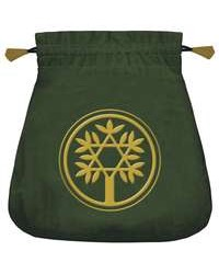Celtic Green Velvet Tarot Bag All Wicca Store Magickal Supplies Wiccan Supplies, Wicca Books, Pagan Jewelry, Altar Statues