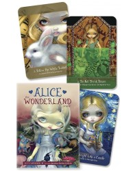 Alice the Wonderland Oracle Cards Deck All Wicca Store Magickal Supplies Wiccan Supplies, Wicca Books, Pagan Jewelry, Altar Statues