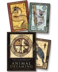 Animal Dreaming Oracle Cards All Wicca Store Magickal Supplies Wiccan Supplies, Wicca Books, Pagan Jewelry, Altar Statues