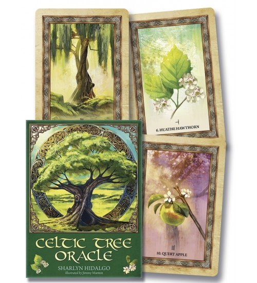Celtic Tree Oracle Cards at All Wicca Store Magickal Supplies, Wiccan Supplies, Wicca Books, Pagan Jewelry, Altar Statues