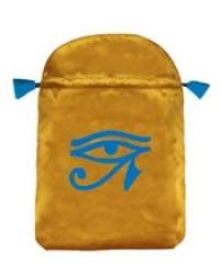 Eye of Horus Satin Bag All Wicca Store Magickal Supplies Wiccan Supplies, Wicca Books, Pagan Jewelry, Altar Statues