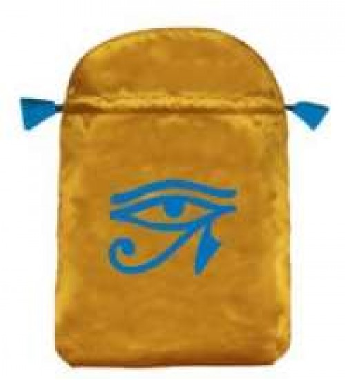 Eye of Horus Satin Bag at All Wicca Store Magickal Supplies, Wiccan Supplies, Wicca Books, Pagan Jewelry, Altar Statues