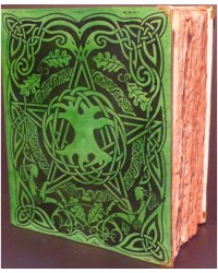 Tree of Life Leather Bound Journal with Antique Parchment All Wicca Store Magickal Supplies Wiccan Supplies, Wicca Books, Pagan Jewelry, Altar Statues
