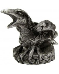 Raven Mini Pewter Candle Holder All Wicca Store Magickal Supplies Wiccan Supplies, Wicca Books, Pagan Jewelry, Altar Statues