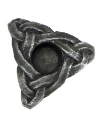 Triskelion Mini Pewter Candle Holder All Wicca Store Magickal Supplies Wiccan Supplies, Wicca Books, Pagan Jewelry, Altar Statues