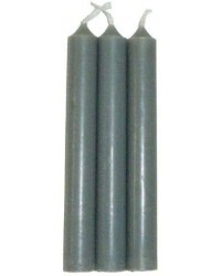 Grey Mini Taper Spell Candles All Wicca Store Magickal Supplies Wiccan Supplies, Wicca Books, Pagan Jewelry, Altar Statues