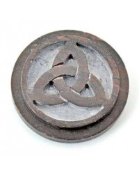 Triquetra SoapStone Altar Paten Tile All Wicca Store Magickal Supplies Wiccan Supplies, Wicca Books, Pagan Jewelry, Altar Statues