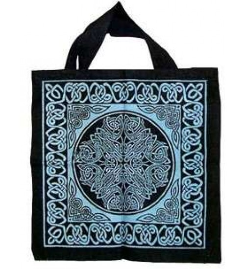 Celtic Knotwork Cotton Tote Bag at All Wicca Store Magickal Supplies, Wiccan Supplies, Wicca Books, Pagan Jewelry, Altar Statues
