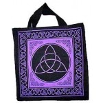 Triquetra Charmed Symbol Cotton Tote Bag