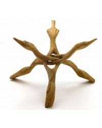 Wood Cobra Stand - 12 Inches All Wicca Magickal Supplies Wiccan Supplies, Wicca Books, Pagan Jewelry, Altar Statues