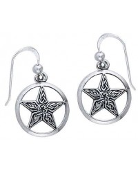 Celtic Knot Pentacle Earrings All Wicca Store Magickal Supplies Wiccan Supplies, Wicca Books, Pagan Jewelry, Altar Statues
