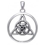 Druid Amulet Sterling Silver Pendant