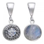 Hidden Pentacle Sterling Silver Pendant