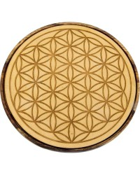 Flower of Life Wood Crystal Grid All Wicca Store Magickal Supplies Wiccan Supplies, Wicca Books, Pagan Jewelry, Altar Statues