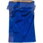 Blue Velvet Lined Pouch