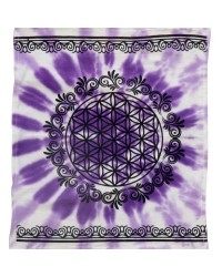 Flower of Life Purple Altar Cloth All Wicca Store Magickal Supplies Wiccan Supplies, Wicca Books, Pagan Jewelry, Altar Statues