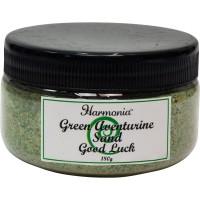Green Aventurine Gemstone Sand for Good Luck