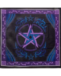 Pentacle Purple Altar Cloth All Wicca Store Magickal Supplies Wiccan Supplies, Wicca Books, Pagan Jewelry, Altar Statues
