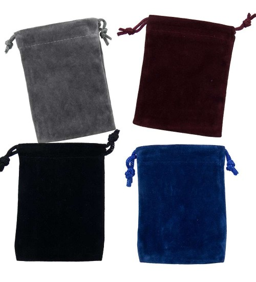 Velvet Pouch Assortment Pack of 12 at All Wicca Store Magickal Supplies, Wiccan Supplies, Wicca Books, Pagan Jewelry, Altar Statues