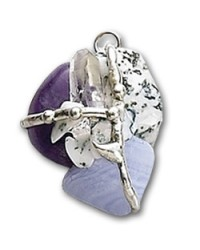Inner Peace Gemstone Magical Amulet All Wicca Store Magickal Supplies Wiccan Supplies, Wicca Books, Pagan Jewelry, Altar Statues