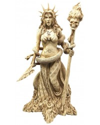 Hecate Greek Goddess of the Underworld Resin Statue All Wicca Store Magickal Supplies Wiccan Supplies, Wicca Books, Pagan Jewelry, Altar Statues