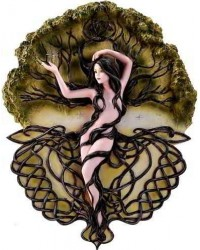 Earth Life Magic Plaque by Selina Fenech All Wicca Store Magickal Supplies Wiccan Supplies, Wicca Books, Pagan Jewelry, Altar Statues