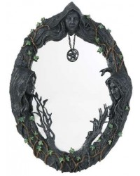 Mother Maiden Crone Wall Mirror All Wicca Store Magickal Supplies Wiccan Supplies, Wicca Books, Pagan Jewelry, Altar Statues