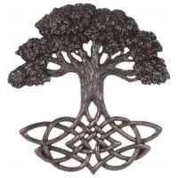 Tree of Life Celtic Knot Bronze Plaque