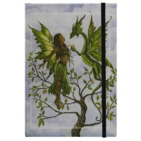The Gift Embossed Fairy Dragon Journal