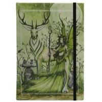Guardian Embossed Fairy Dragon Journal