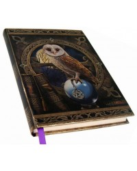 Spell Keeper Owl Embossed Journal All Wicca Store Magickal Supplies Wiccan Supplies, Wicca Books, Pagan Jewelry, Altar Statues