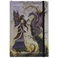Dragon Charmer Embossed Fairy Journal