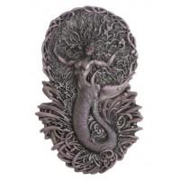 Mermaid Aine Plaque in Gray