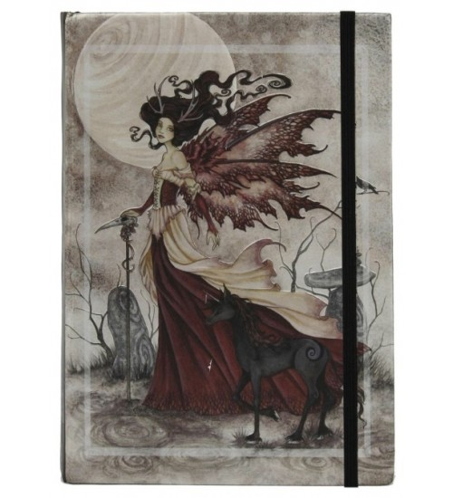 Red Fairy Queen Embossed Journal at All Wicca Store Magickal Supplies, Wiccan Supplies, Wicca Books, Pagan Jewelry, Altar Statues
