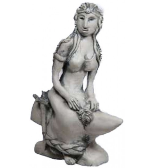 Brigid Goddess of the Hearth Small Statue at All Wicca Store Magickal Supplies, Wiccan Supplies, Wicca Books, Pagan Jewelry, Altar Statues