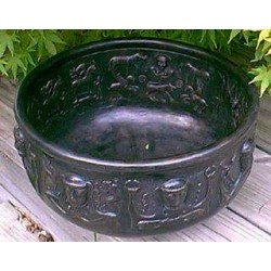 Gundustrup 12 Inch Resin Cauldron All Wicca Wiccan Altar Supplies, Books, Jewelry, Statues
