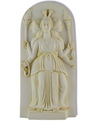 Hecate Triple Goddess Ivory Plaque All Wicca Store Magickal Supplies Wiccan Supplies, Wicca Books, Pagan Jewelry, Altar Statues