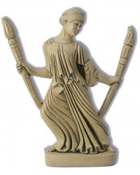 Hecate with Torches Greek Goddess Statue All Wicca Store Magickal Supplies Wiccan Supplies, Wicca Books, Pagan Jewelry, Altar Statues