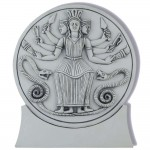 Roman Hecate Triple Goddess Statue or Plaque