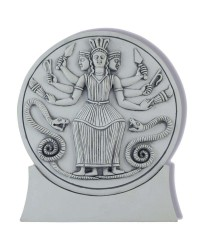 Roman Hecate Triple Goddess Statue or Plaque All Wicca Store Magickal Supplies Wiccan Supplies, Wicca Books, Pagan Jewelry, Altar Statues
