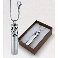 Aromatherapy Pendulum Locket - Dove of Peace