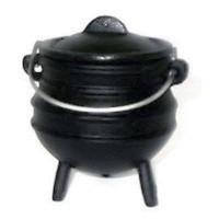 Cast Iron Mini Potjie Cauldron - 5 Oz