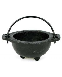 Cast Iron 3 Inch Wide Mouth Mini Cauldron All Wicca Store Magickal Supplies Wiccan Supplies, Wicca Books, Pagan Jewelry, Altar Statues