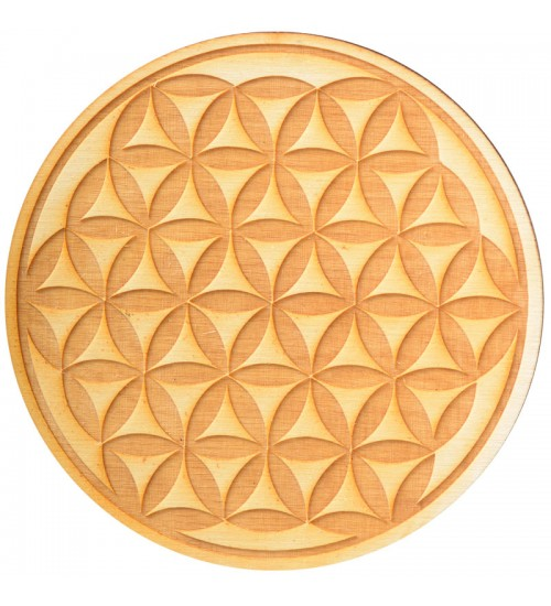 Flower of Life Crystal Grid in 3 Sizes at All Wicca Store Magickal Supplies, Wiccan Supplies, Wicca Books, Pagan Jewelry, Altar Statues