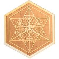 Mekaba Wood Crystal Grid in 3 Sizes
