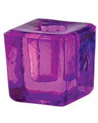 Purple Glass Mini Candle Holder All Wicca Store Magickal Supplies Wiccan Supplies, Wicca Books, Pagan Jewelry, Altar Statues