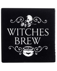 Witches Brew Ceramic Coaster All Wicca Store Magickal Supplies Wiccan Supplies, Wicca Books, Pagan Jewelry, Altar Statues